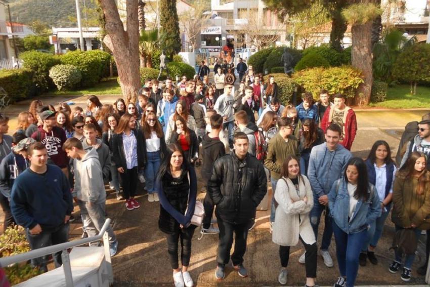 Μαθητές από το Γενικό Λύκειο Αυλίδας επισκέφτηκαν το Μουσείο Μαραθωνίου Δρόμου