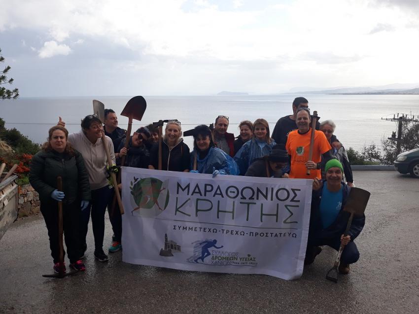 ΔΕΛΤΙΟ ΤΥΠΟΥ - Ο Μαραθώνιος της Κρήτης βρίσκεται σε Πράσινη Αποστολή