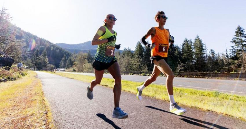 Βίντεο και φωτό από το ρεκόρ της Linden στα 50 χλμ