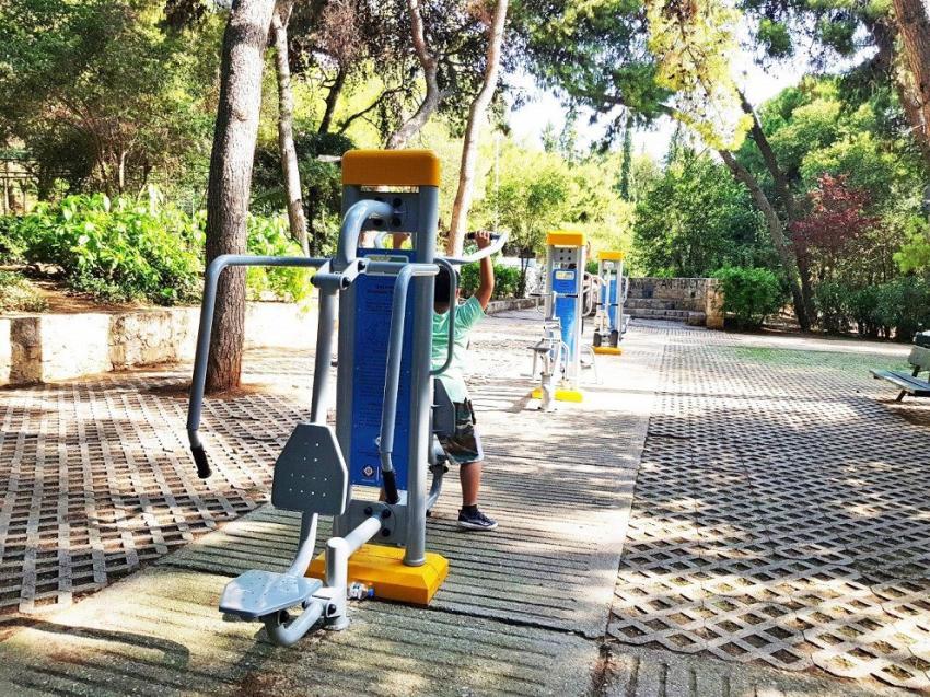 ΔΕΛΤΙΟ ΤΥΠΟΥ - Δύο πάρκα υπαίθριας άθλησης  για πρώτη φορά στην Αθήνα
