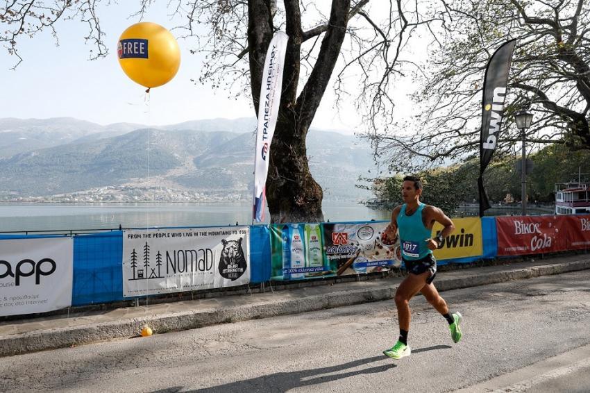 Οι δρομείς έβαλαν άριστα στο Ioannina Lake Run