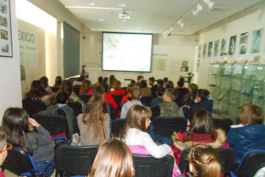 Μαθητές από το 4ο Δημοτικό Καματερού επισκέφτηκαν το Μουσείο Μαραθωνίου Δρόμου