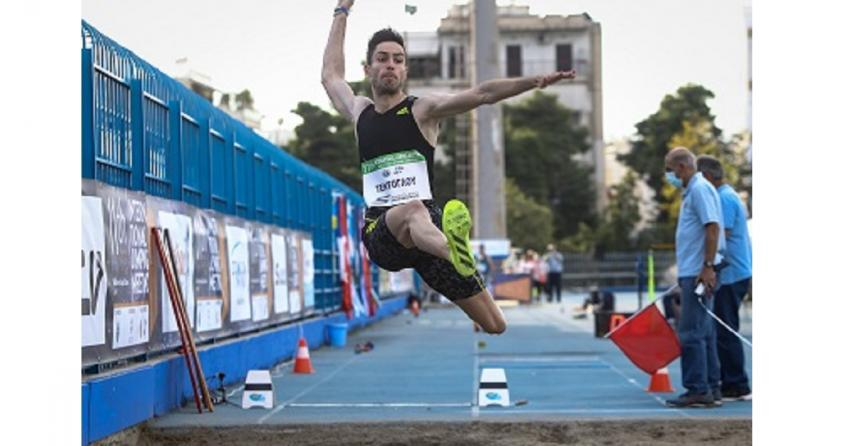 Ο Μίλτος Τεντόγλου προσγειώθηκε στα 8,60 μ. Κορυφαία επίδοση στον κόσμο (ΒΙΝΤΕΟ)