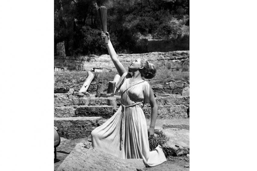 Εφυγε από τη ζωή μία από τις εμβληματικότερες Πρωθιέρειες της Ολυμπιακής Φλόγας, η Μαρία Μοσχολιού