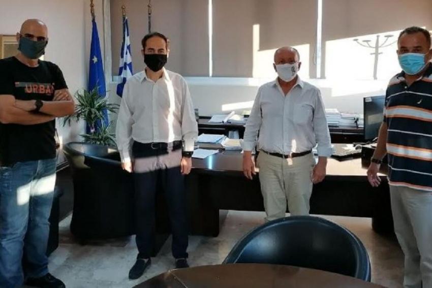 Ενημέρωση του Δημάρχου Μαραθώνα για την πορεία προετοιμασίας του 7ου Ημιμαραθωνίου Μαραθώνα