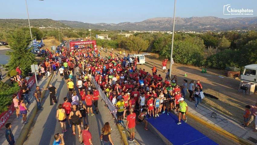 ΔΕΛΤΙΟ ΤΥΠΟΥ - 7ος Ημιμαραθώνιος Χίου - Άνοιξαν οι εγγραφές