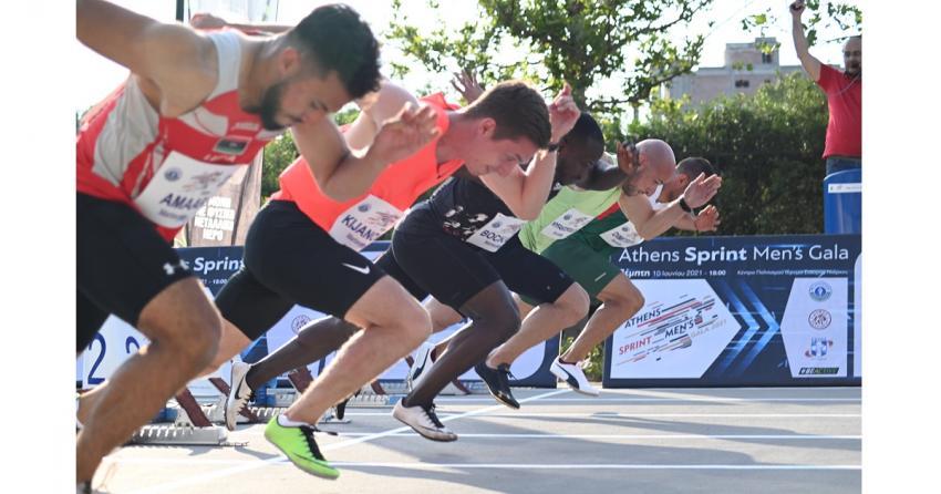 Με απόλυτη επιτυχία στέφθηκε το 1ο «Athens Sprint Men's Gala»