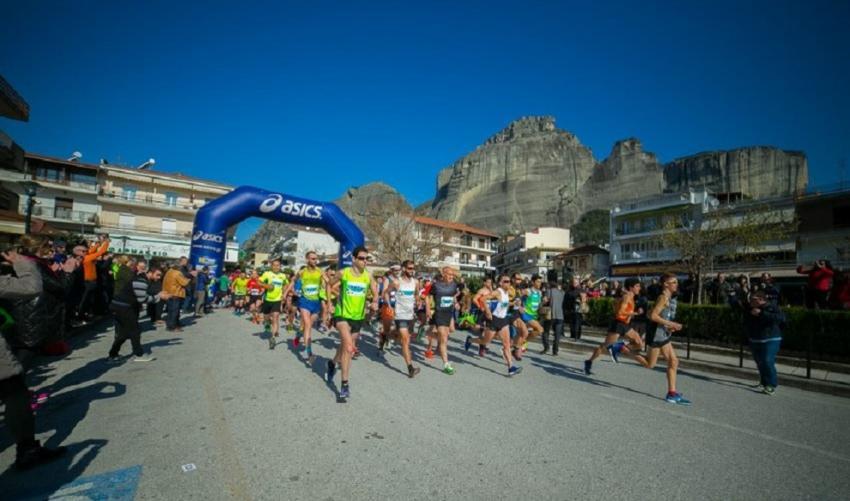 12ος Ημιμαραθώνιος Δρόμος Καλαμπάκα - Τρίκαλα & αγώνας 5 χλμ.