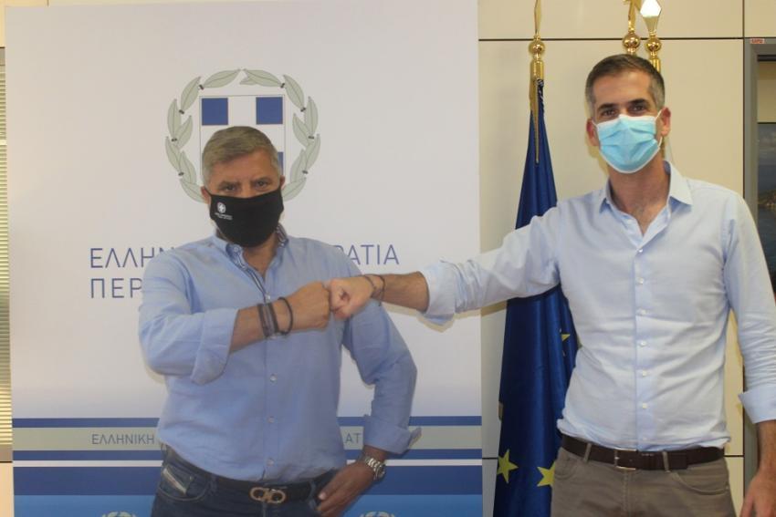 Έργα αναβάθμισης σε 33 αθλητικούς χώρους της πρωτεύουσας από τον Δήμο Αθηναίων, με χρηματοδότηση της Περιφέρειας Αττικής, ύψους 1.8 εκ. ευρώ