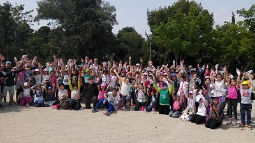 Το Πεδίο του Άρεως γέμισε μικρά παιδιά που συμμετείχαν στο Kids Athletics