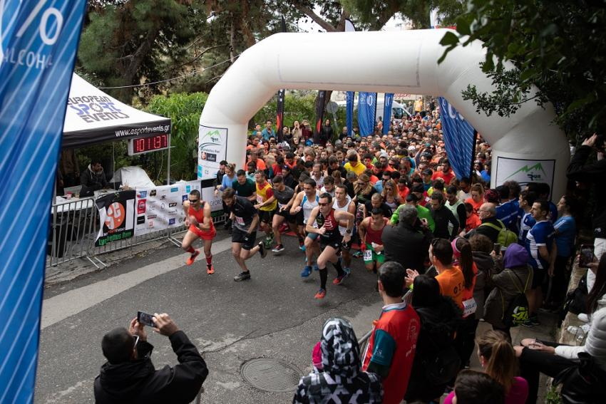 6th Lycabettus Run - Αποτελέσματα