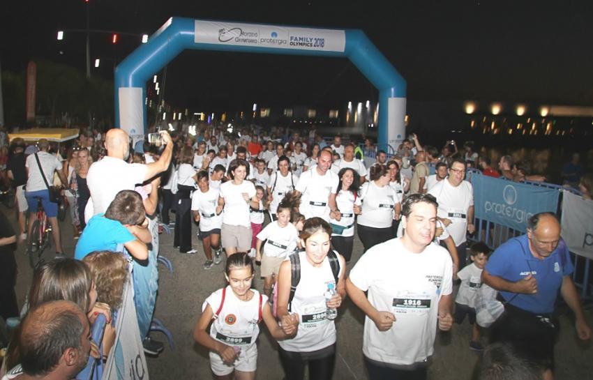 """ΔΕΛΤΙΟ ΤΥΠΟΥ - Ολοκληρώθηκαν με μεγάλη επιτυχία το """"Family Olympics 2018"""" και το """"Family Run+Fun"""" του Ολυμπιακού Μουσείου-Protergia"""