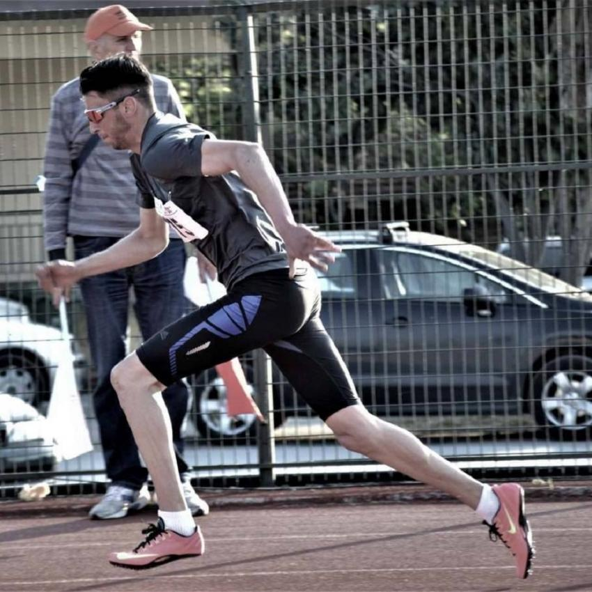 ΔΕΛΤΙΟ ΤΥΠΟΥ - Δεύτερος ο Κουτσούκης του Φίλιππου Βέροιας στα 400 μέτρα στο πανελλήνιο ανδρών