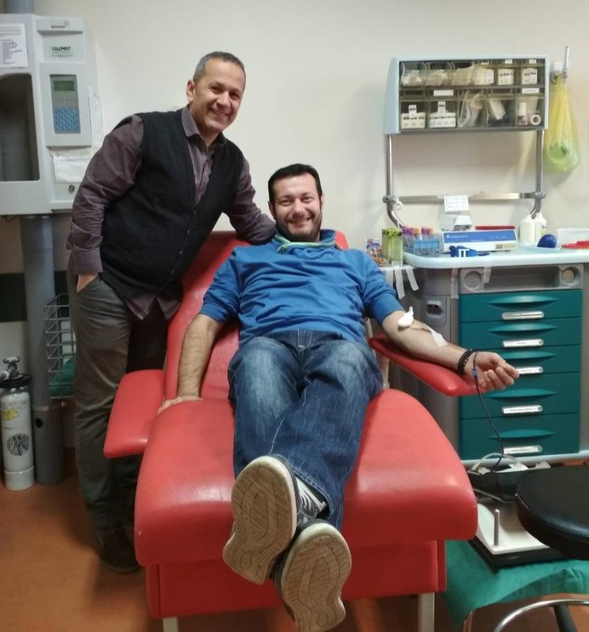 ΔΕΛΤΙΟ ΤΥΠΟΥ - Μεγάλη συμμετοχή στην ετήσια εθελοντική αιμοδοσία του ΑΠΣ Δρομέων Πιερίας «ΖΕΥΣ»