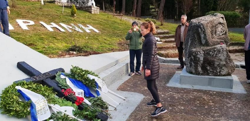 ΔΕΛΤΙΟ ΤΥΠΟΥ - Δρόμος Θυσίας Καλαβρύτων 2018   Ο ΣΔΥ Πειραιά τίμησε με την παρουσία την μνήμη των εκτελεσθέντων