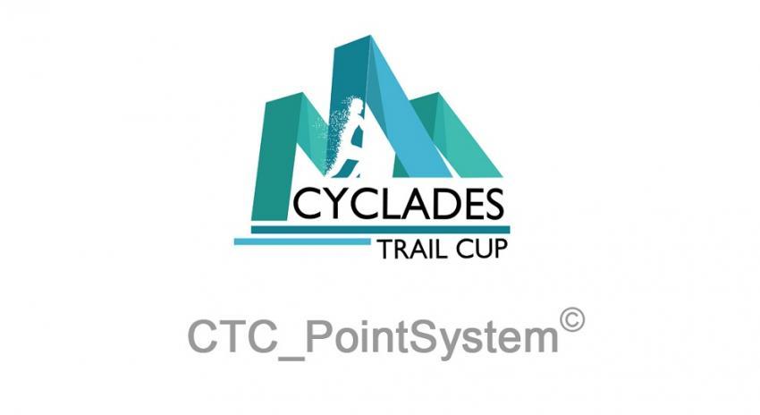 ΔΕΛΤΙΟ ΤΥΠΟΥ - Βαθμολογία Cyclades Trail Cup 2018