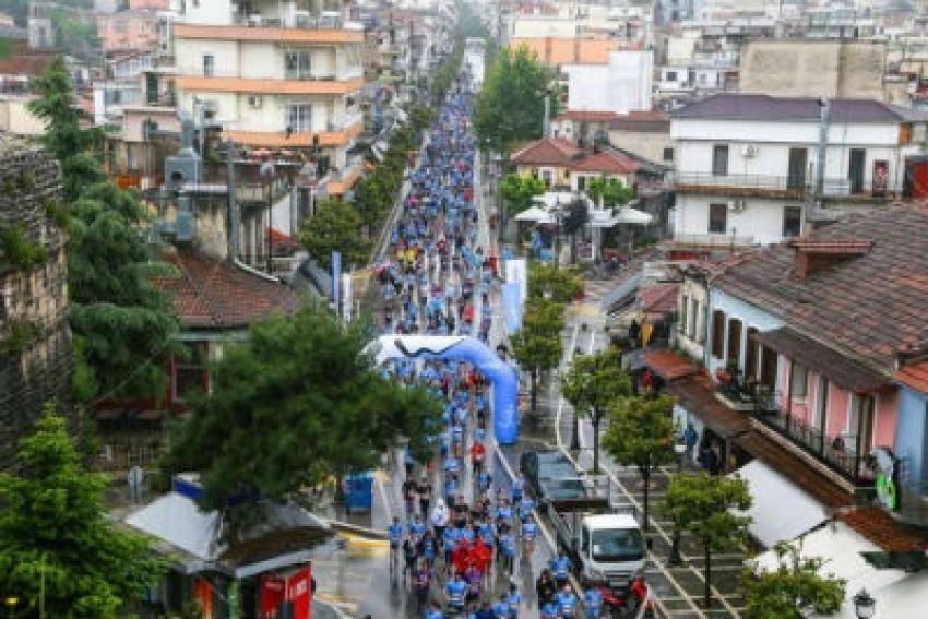 Μεγάλη συμμετοχή στο Run Greece των Ιωαννίνων