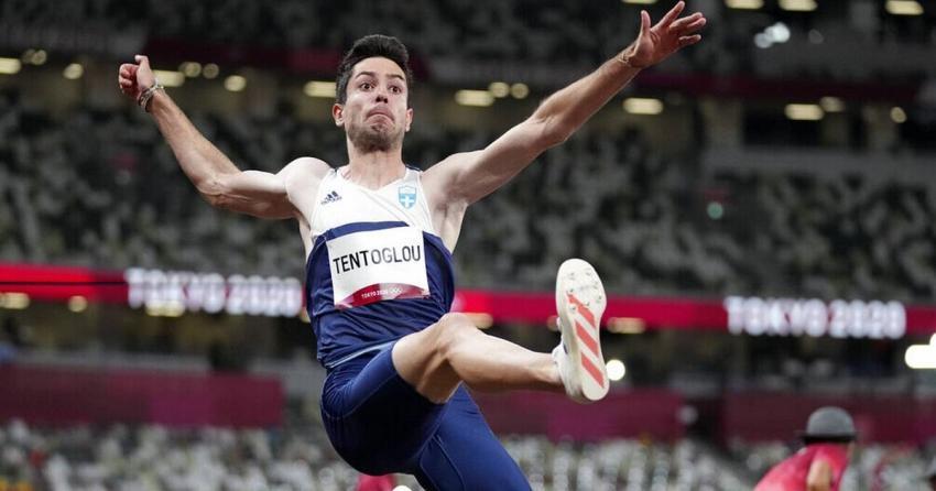 Χρυσός Ολυμπιονίκης ο Μίλτος Τεντόγλου με άλμα στα 8.41μ.