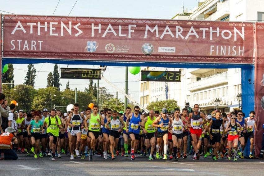 8ος Ημιμαραθώνιος Αθήνας – Athens Half Marathon 2019