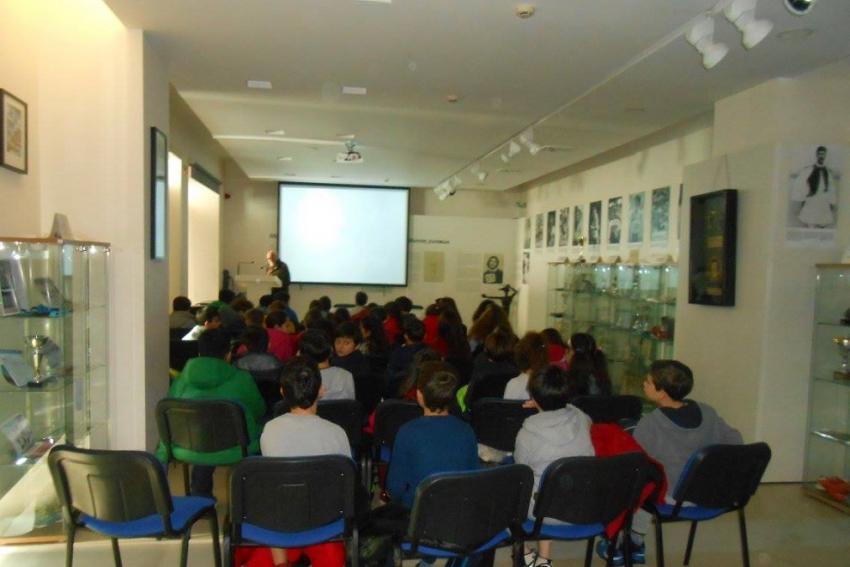 Μαθητές του 1ου Δημοτικού σχολείου Ν.Ψυχικού επισκέφτηκαν το Μουσείο Μαραθωνίου Δρόμου