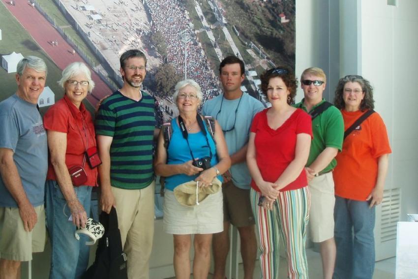Επισκέπτες από την Αλαμπάμα των ΗΠΑ επισκέφτηκαν το Μουσείο Μαραθωνίου Δρόμου