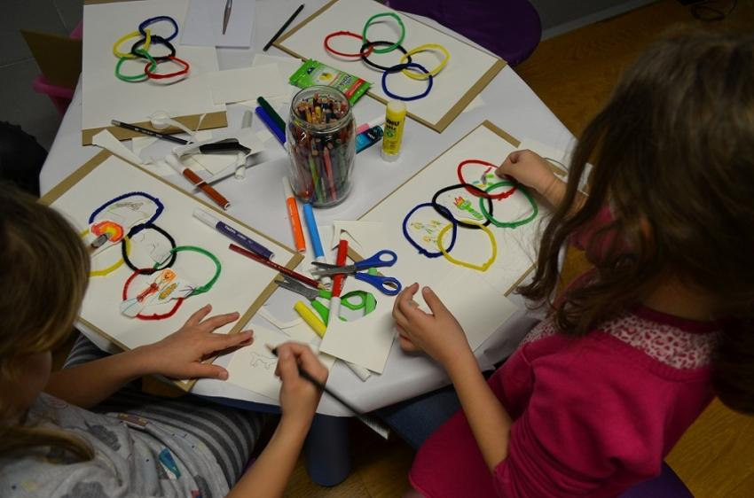 Ταξίδι στον κόσμο της γνώσης και της διασκέδασης για μικρά παιδιά στο Ολυμπιακό Μουσείο