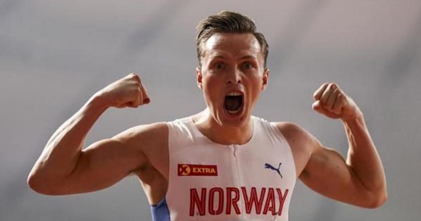 Ο Karsten Warholm έσπασε το δικό του παγκόσμιο ρεκόρ. Χρυσό μετάλλιο με το απίστευτο 45.94 στα 400μ. με εμπόδια