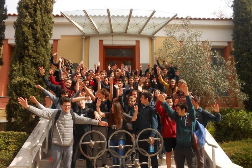Μαθητές από τo 3ο Γυμνάσιο Αμαρουσίου επισκέφτηκαν το Μουσείο Μαραθωνίου Δρόμου