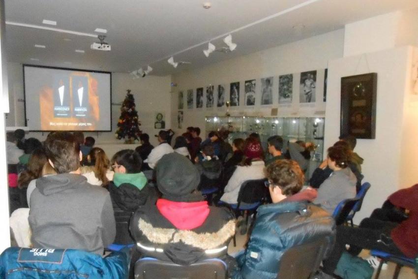 Το Μουσείο Μαραθωνίου Δρόμου επισκέφτηκαν μαθητές από το Λύκειο Πικερμίου