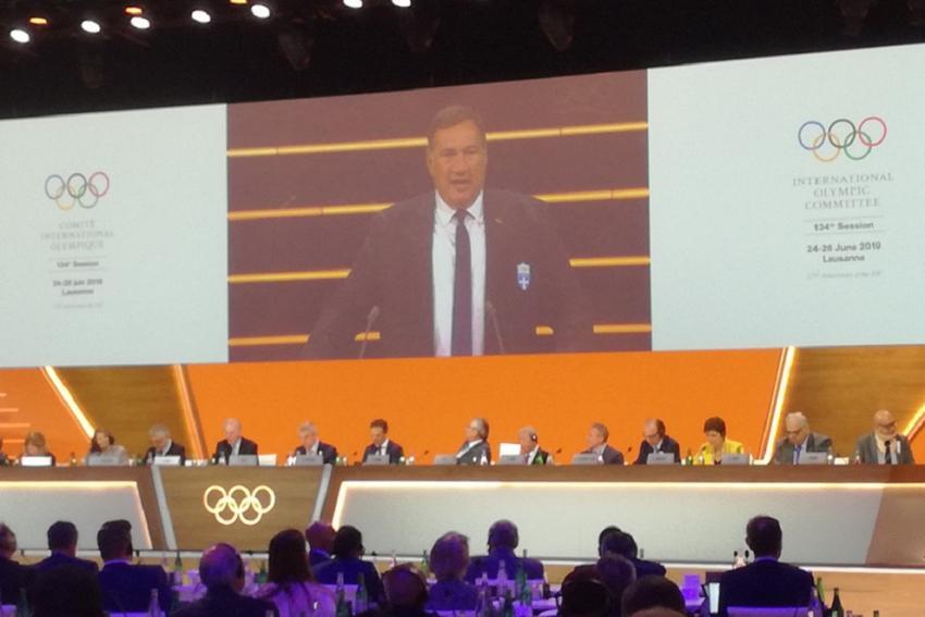 ΔΕΛΤΙΟ ΤΥΠΟΥ - H Aθήνα θα διοργανώσει το 2021 τη Σύνοδο της Διεθνούς Ολυμπιακής Επιτροπής